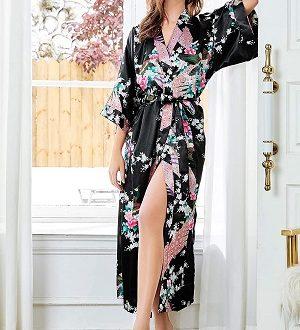 kimono bata largo
