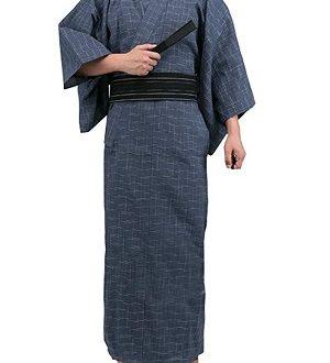 kimono clásico japones hombre