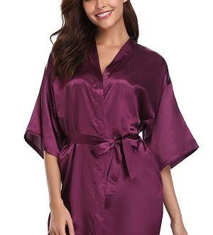 kimono morado purpura