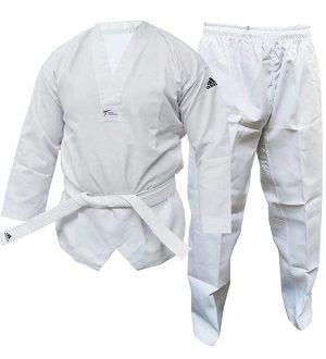 kimono taekwondo adidas blanco