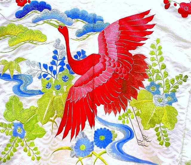 Colores y patrones japoneses