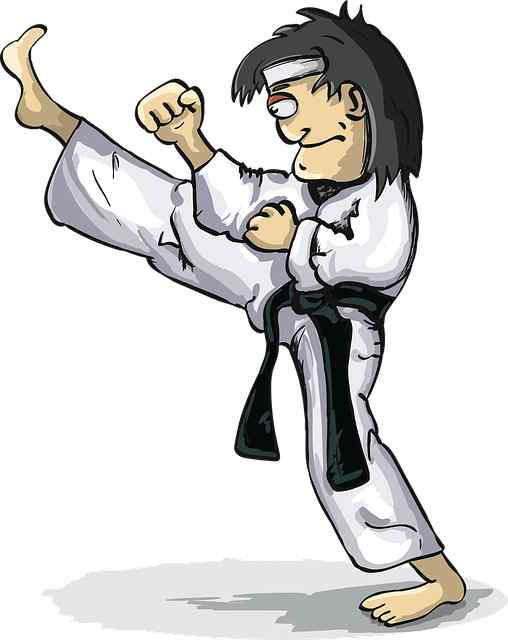 dibujo de judoca