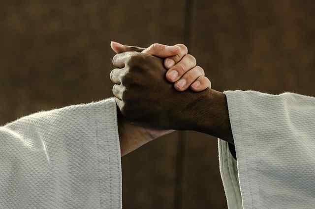 judoca manos kinomos